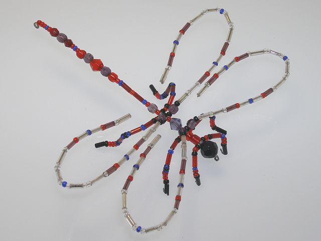 Beaded Dragonfly #104