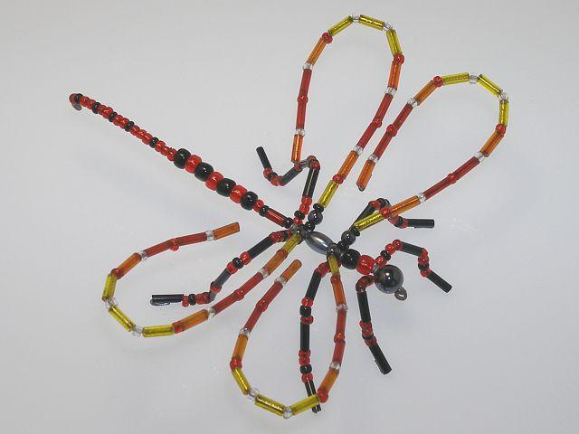 Beaded Dragonfly #107