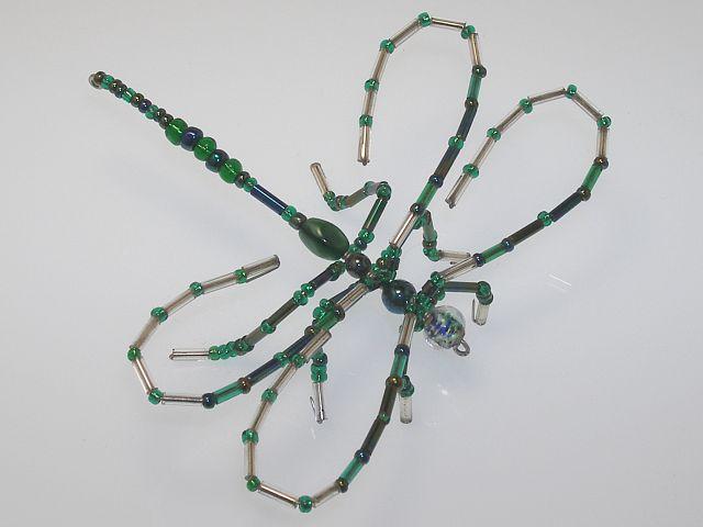 Beaded Dragonfly #112
