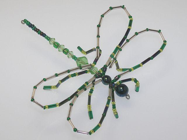 Beaded Dragonfly #113