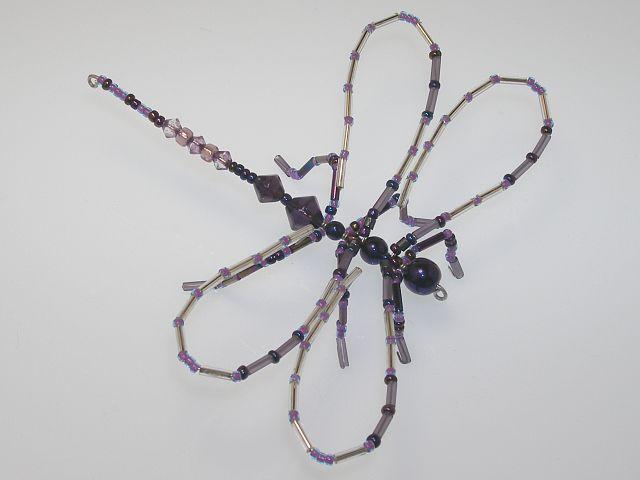 Beaded Dragonfly #115