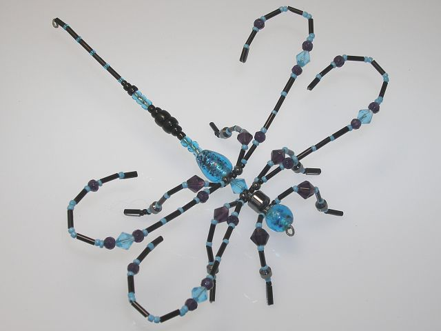 Beaded Dragonfly #207