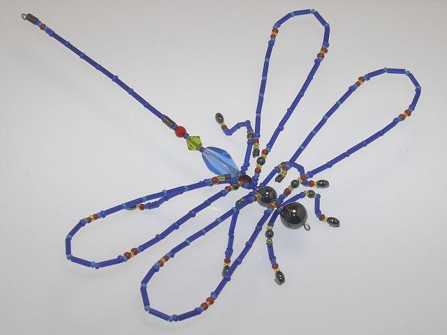 Beaded Dragonfly #209