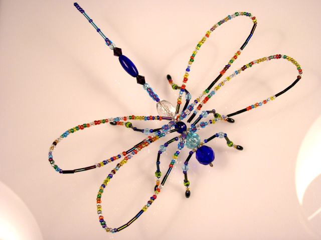 Summer Solstice Dragonfly - Rainbow