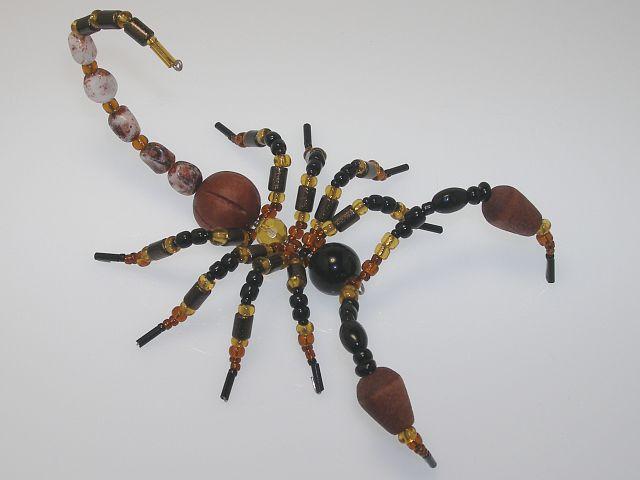 Beaded Scorpion #301