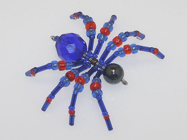 Beaded Spider #101