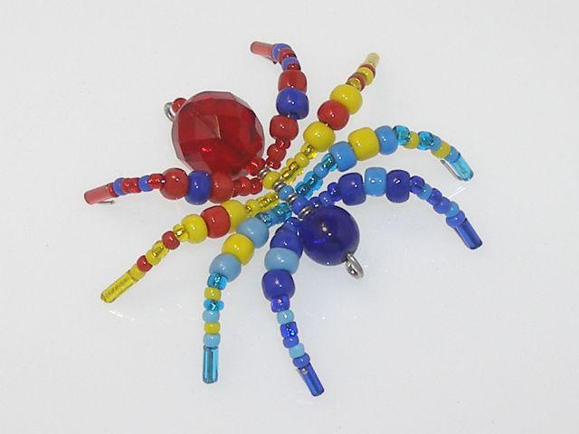 Beaded Spider #102
