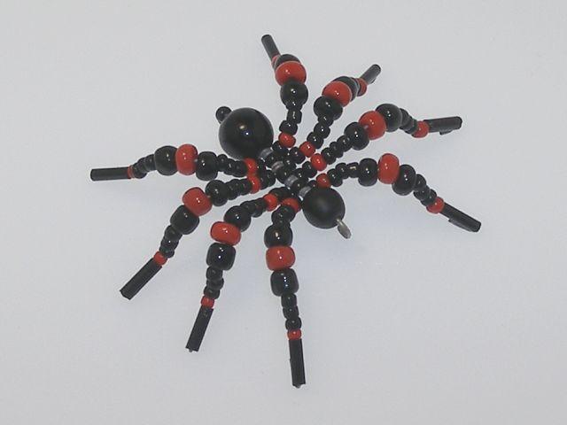 Beaded Spider #113