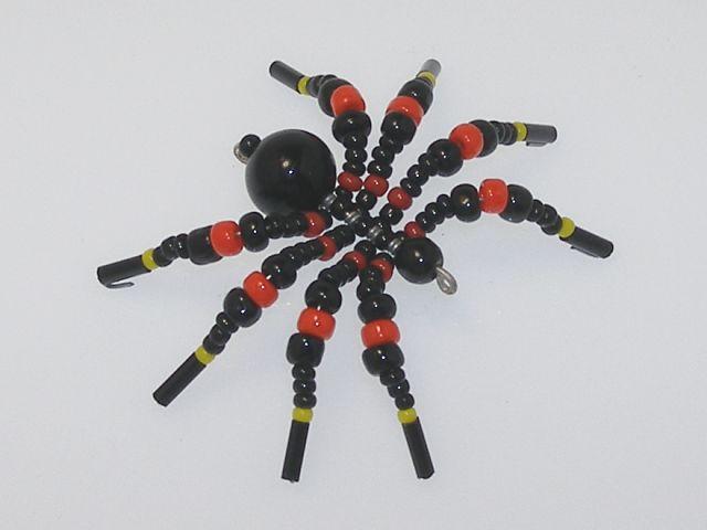 Beaded Spider #116