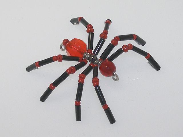 Beaded Spider #123