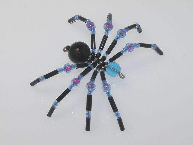 Beaded Spider #125