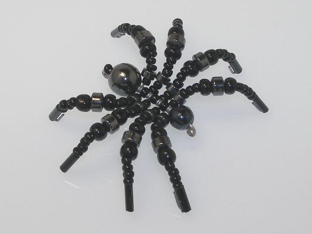 Beaded Spider #134
