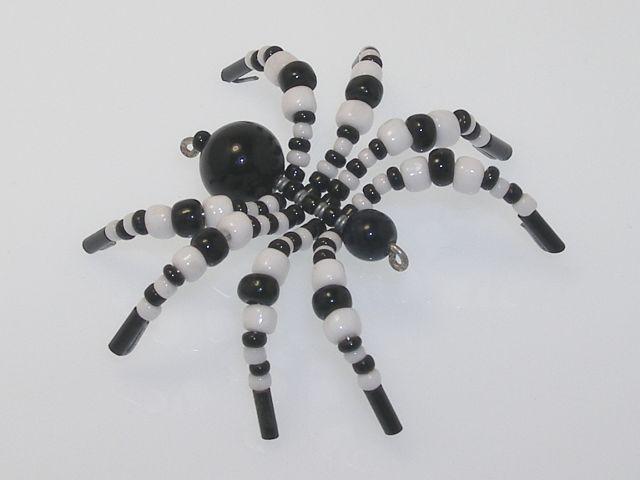 Beaded Spider #144