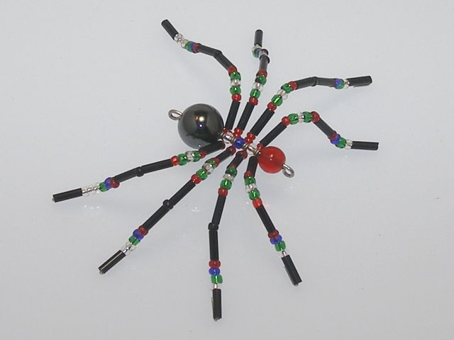Small 'Antique' Style Christmas Spider Ornament