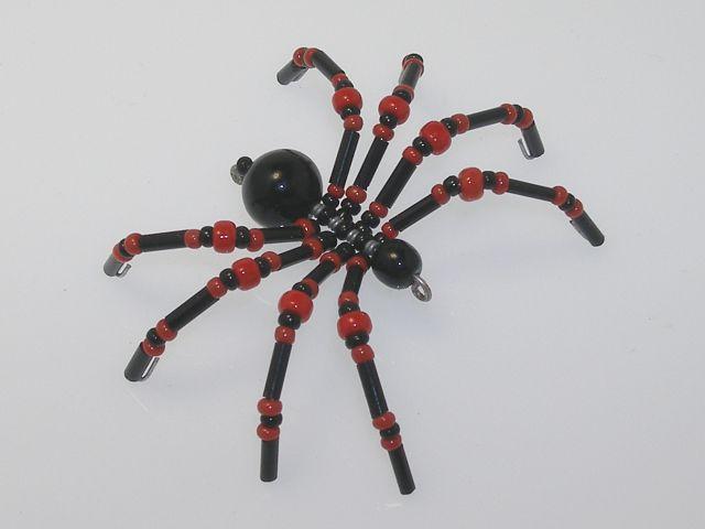 Beaded Spider #156