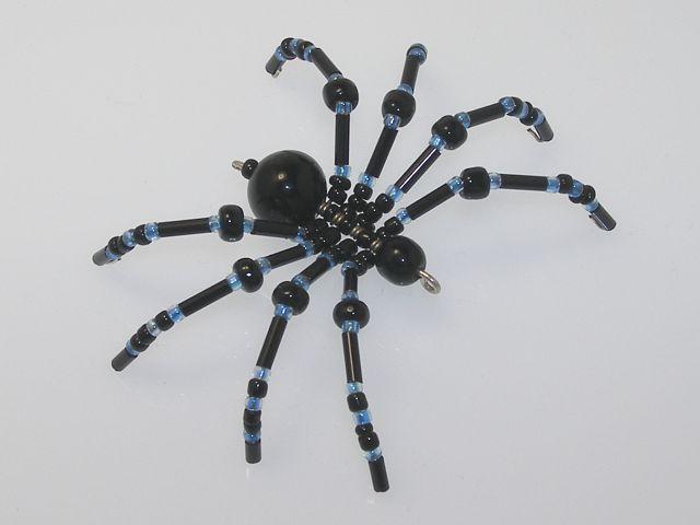 Beaded Spider #159