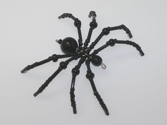 Beaded Spider #160