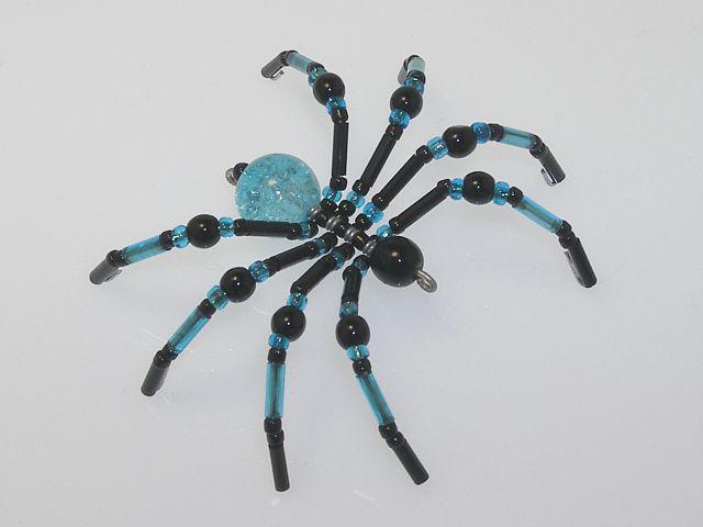 Beaded Spider #162