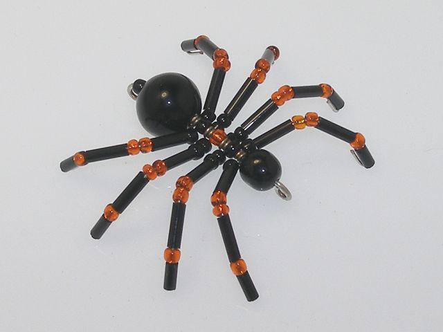 Beaded Spider #166