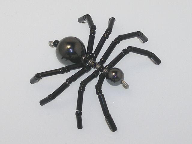 Beaded Spider #167