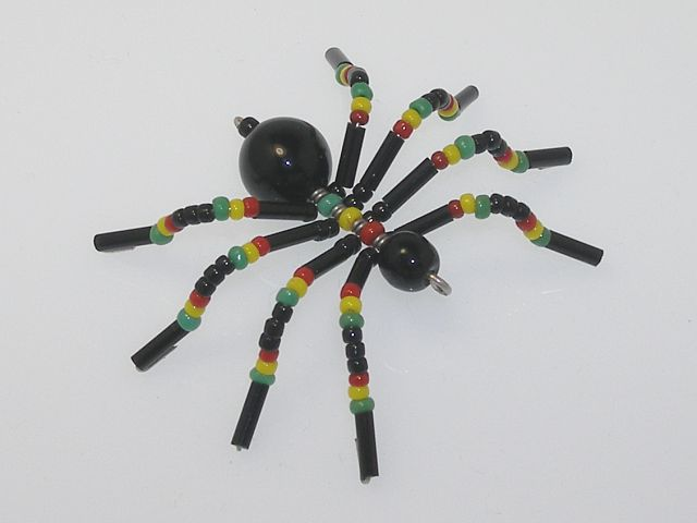 Beaded Spider #168