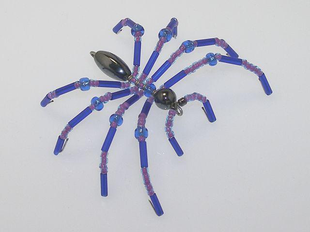Beaded Spider #174