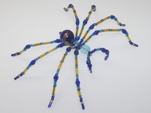 Beaded Spider #202