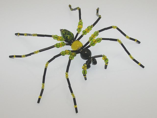 Beaded Spider #206