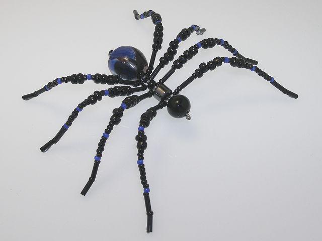 Beaded Spider #211