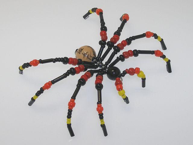 Beaded Spider #213