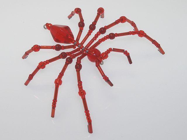 Beaded Spider #215