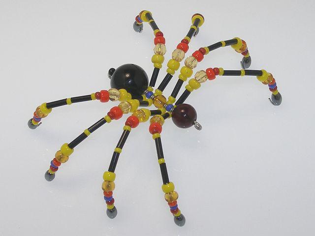 Beaded Spider #222