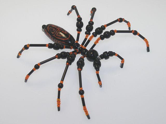 Beaded Spider #227