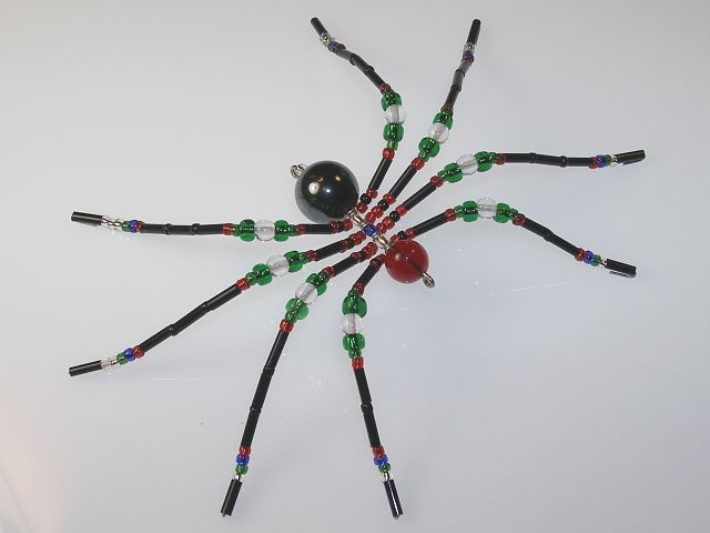 Medium 'Antique' Style Christmas Spider Ornament