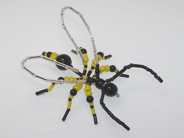 Beaded Wasp #201